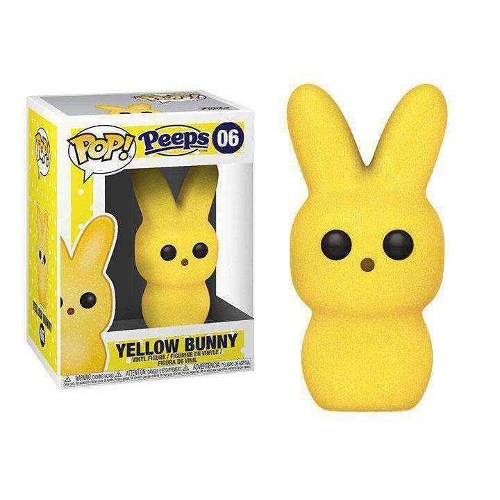 Image of Pop! Candy: Peeps - Yellow Bunny - FEBRUARY 2019