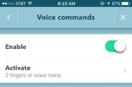 For those driving solo, Waze can be configured to respond to voice commands.