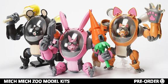 Mech Mech Zoo Set of 3 Model kits