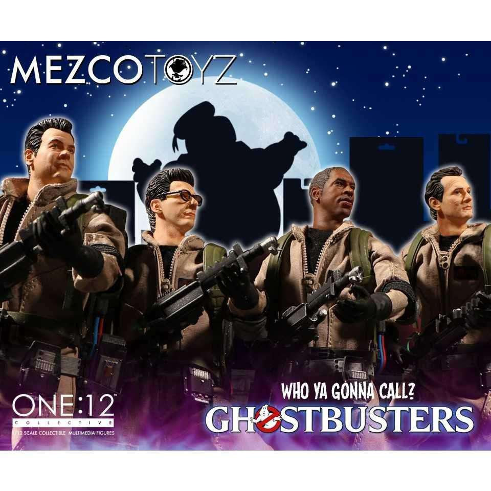 Image of One:12 Collective Ghostbusters Deluxe Box Set - Q2 2019