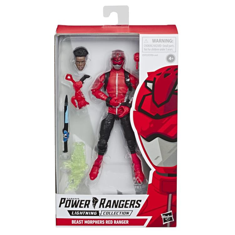 Image of Power Rangers Lightning Collection Wave 2 - Beast Morphers Red Ranger