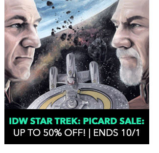IDW Star Trek: Picard Sale: up to 50% off! Sale ends 10/1.