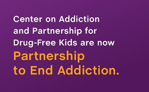 Center on Addiction changes name to Partnership to End Addiction and launches new website