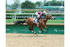 Bano Solo breaks his maiden June 23 at Churchill Downs