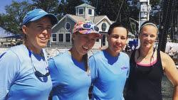 Womens Worlds winners- Everett and American YC team