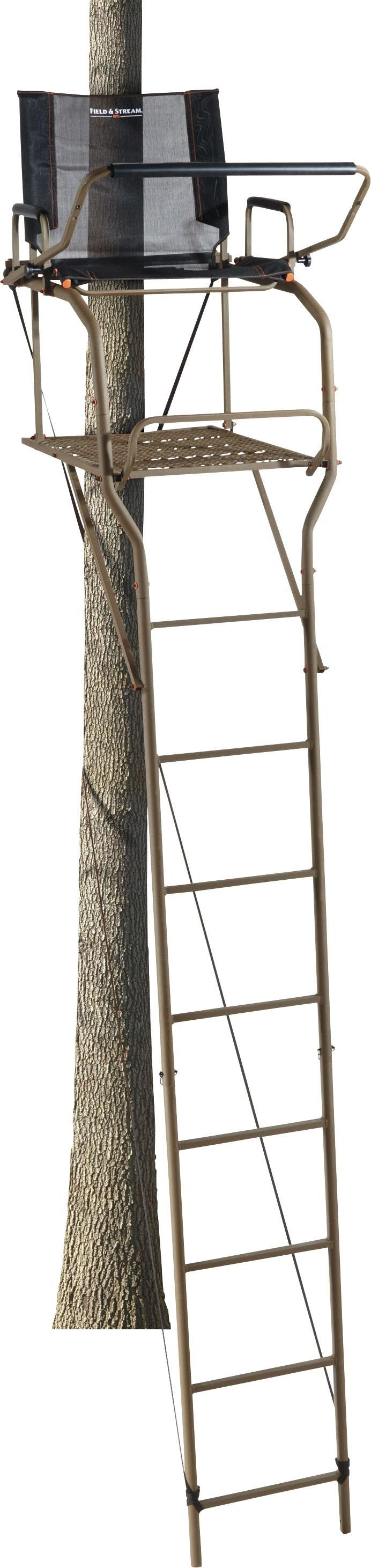 Hunt In Secure Comfort With Field Amp Stream 174 Treestands