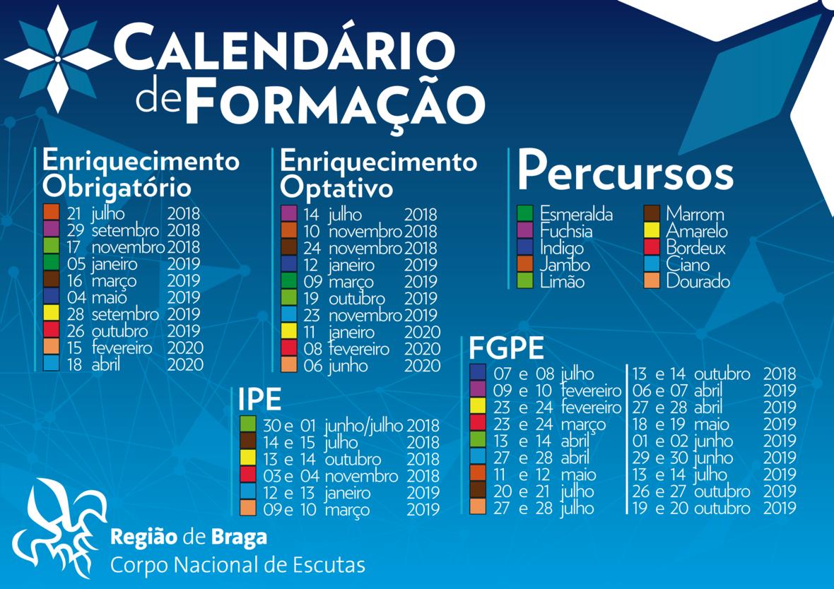 Calendario Formacao2