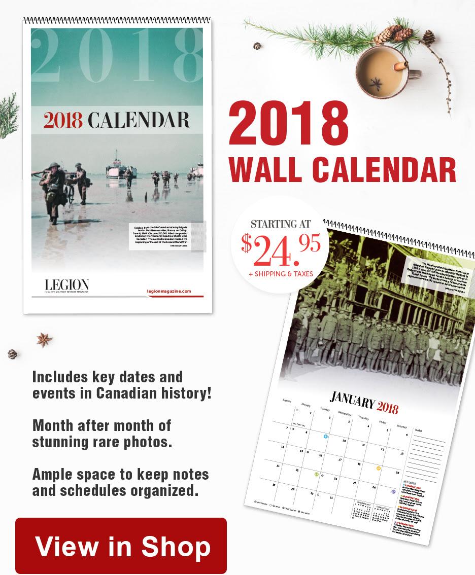 wall calendar ad