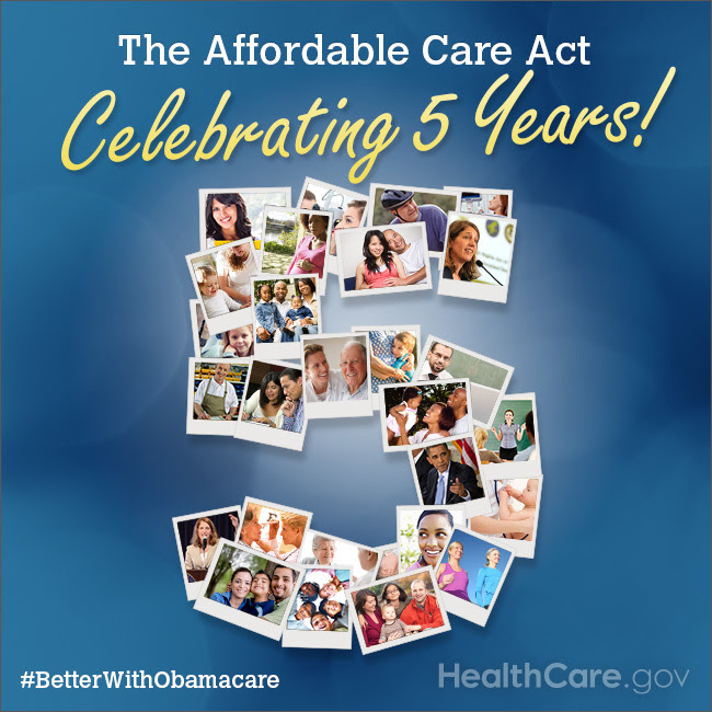 Celebrating 5 Years: The Affordable Care Act