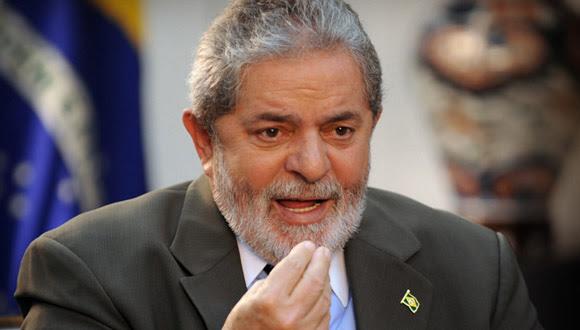 Luis Inacio Lula da Silva. Foto tomada de campeche.com.mx
