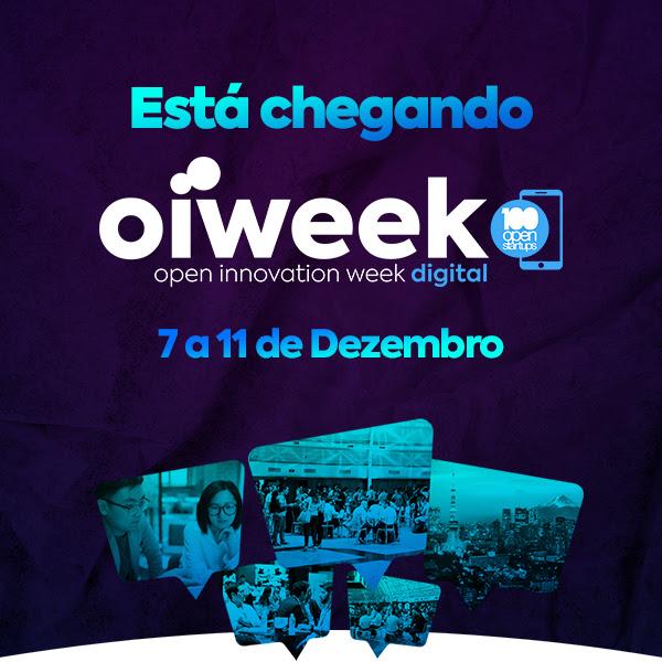 A edição de dezembro da Oiweek Digital está chegando - 7 a 11 de dezembro de 2020.