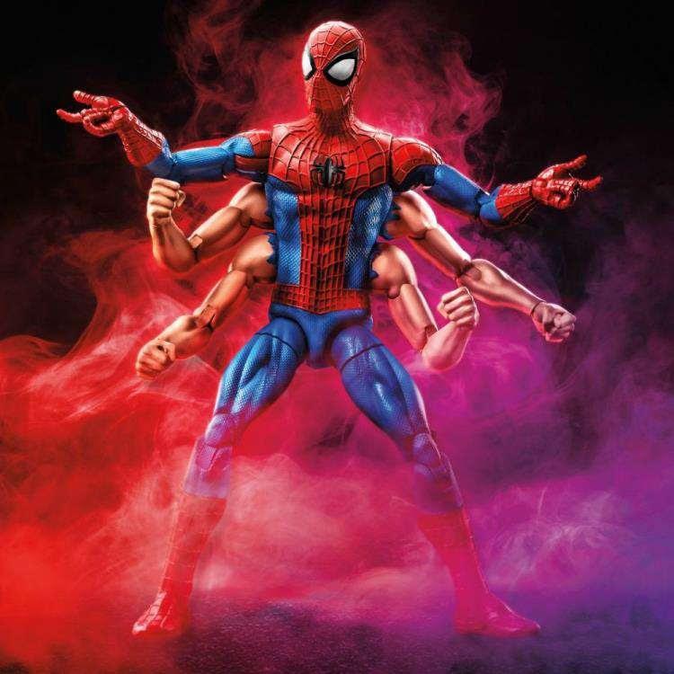 Image of Amazing Spider-Man Marvel Legends Wave 11 (Kingpin BAF) - Six Arm Spider-Man