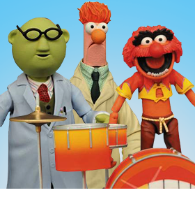 THE MUPPETS SELECT BBTS EXCLUSIVE PRODUCTION RUNS