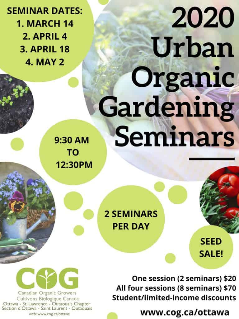 2020 Urban Organic Seminars