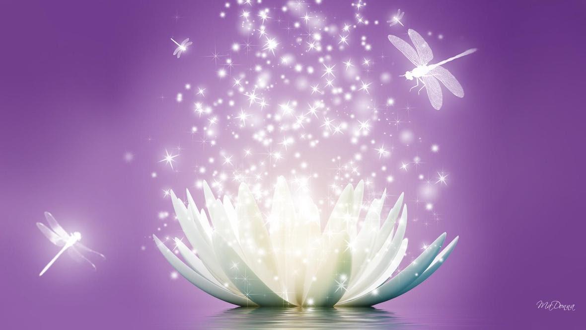 lotus sparkle purple