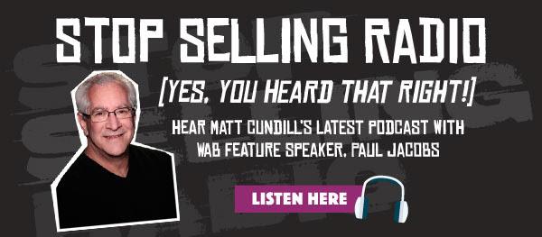 Stop selling radio. Listen here!