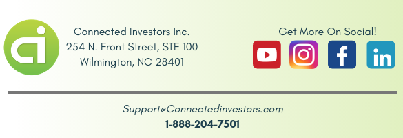 Connected Investors Social Footer