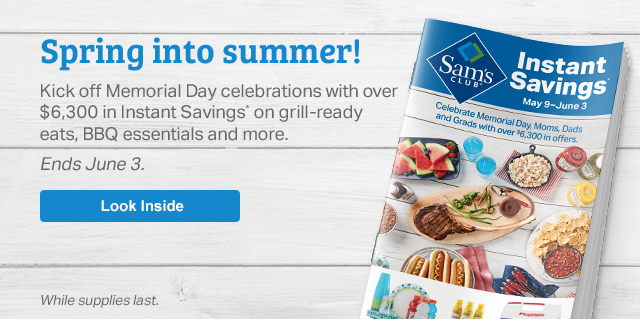 Spring into Summer! Kick off Memorial Day with over $6,300 in Instant Savings.