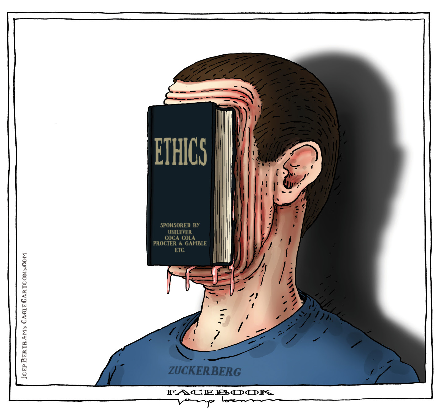 Facebook and Zuckerberg ignore their ethical responsibilities.