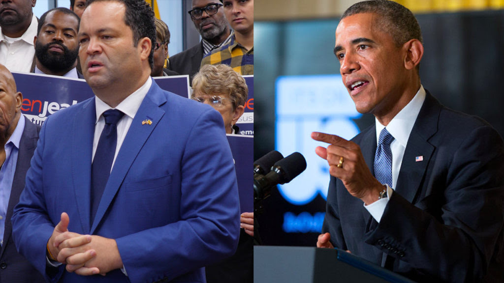 Could Obama's Endorsement Help Ben Jealous Defeat Larry Hogan?