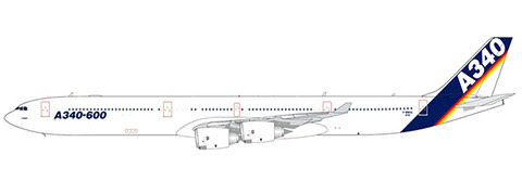 LH4167 | JC Wings 1:400 | Airbus A340-600 Airbus Industrie F-WWCC | is due: August 2020