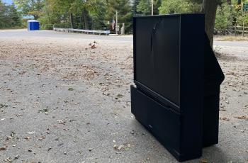 dumped tv