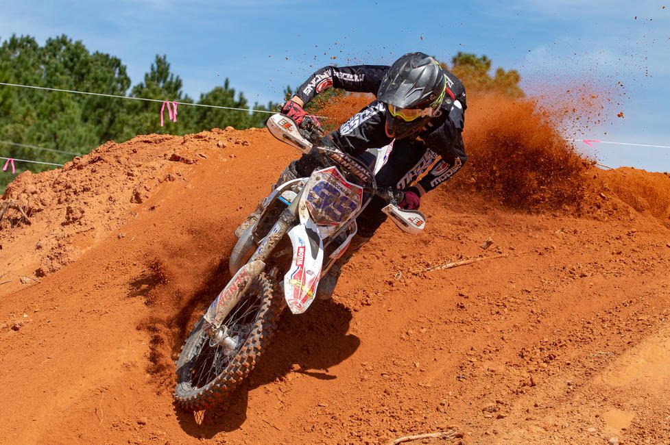 Cody Barnes earned his first FMF XC3 125 Pro-Am class win of the season.