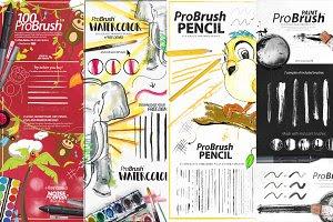 300+ Illustrator Brushes