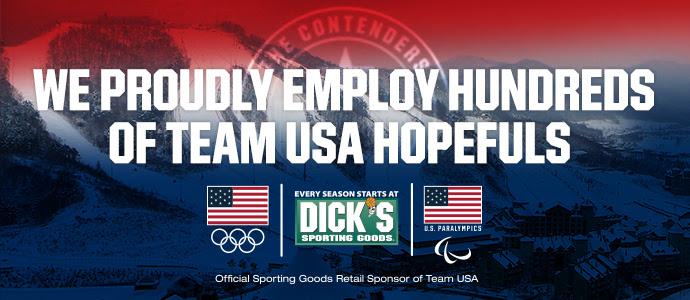 WE PROUDLY EMPLOY HUNDREDS OF TEAM USA HOPEFULS