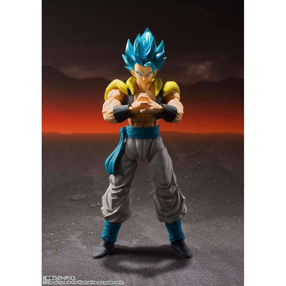Image of Dragon Ball Super: Broly (Movie) S.H. Figuarts - Gogeta SSGS (Super Saiyan God)