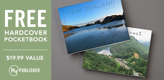 FREE photo book from MyPublish...
