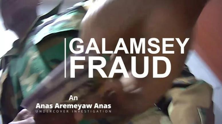 Galamsey fraud by Anas Aremeyaw Anas