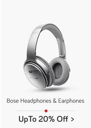 Bose Headphones & Earphones- Up to 20% Off