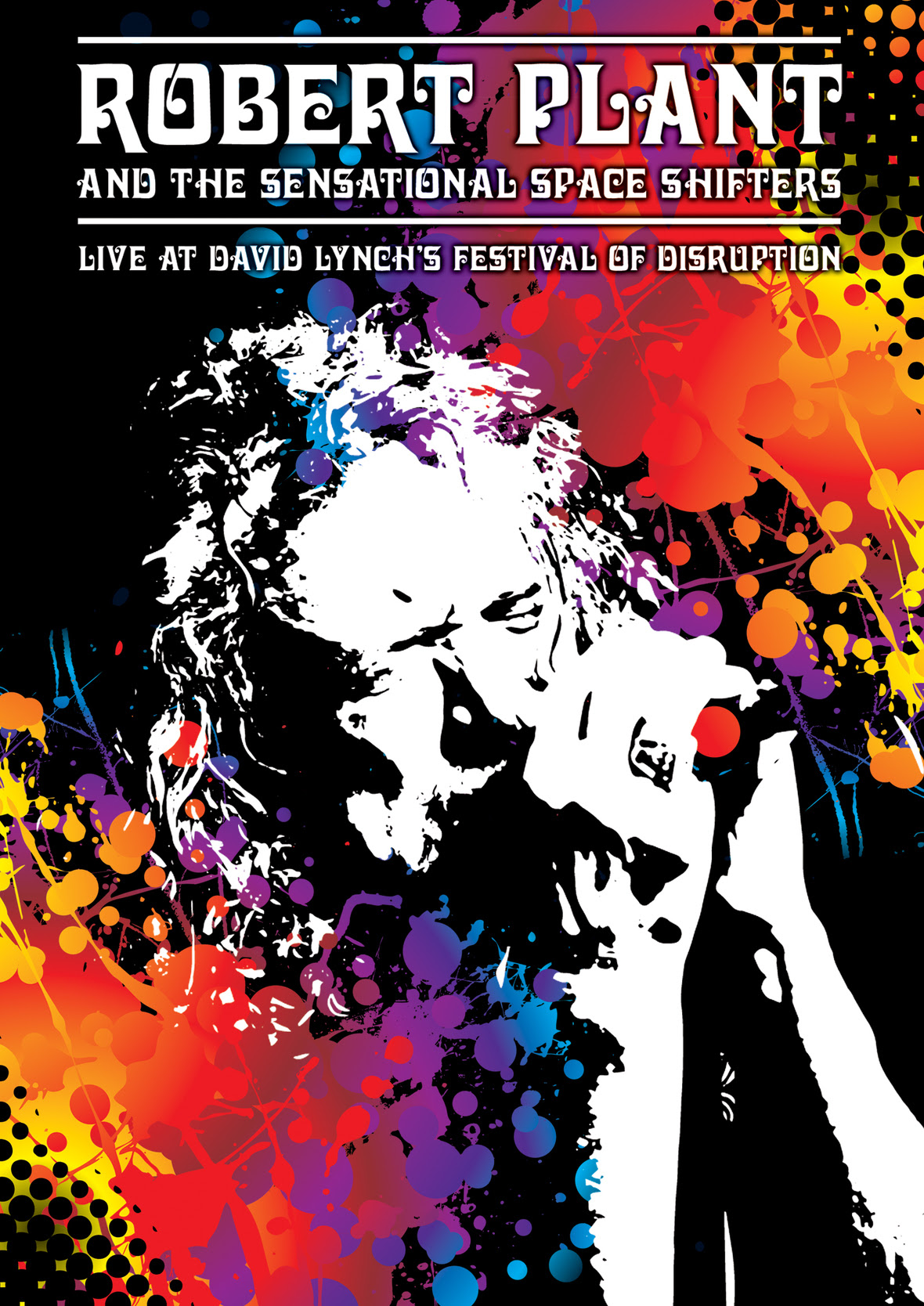 Robert Plant Disruption Festival DVD cover hr