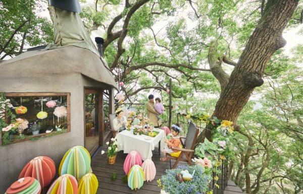 【リゾナーレ熱海】親子で楽しむ体験型イースターイベント「ツリーハウスイースター2019」を開催