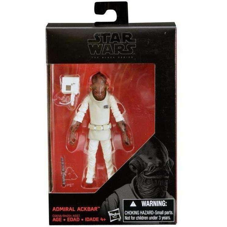 "Image of Star Wars: The Black Series 3.75"" Wave 11 - Admiral Ackbar"