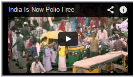 India is now Polio Free
