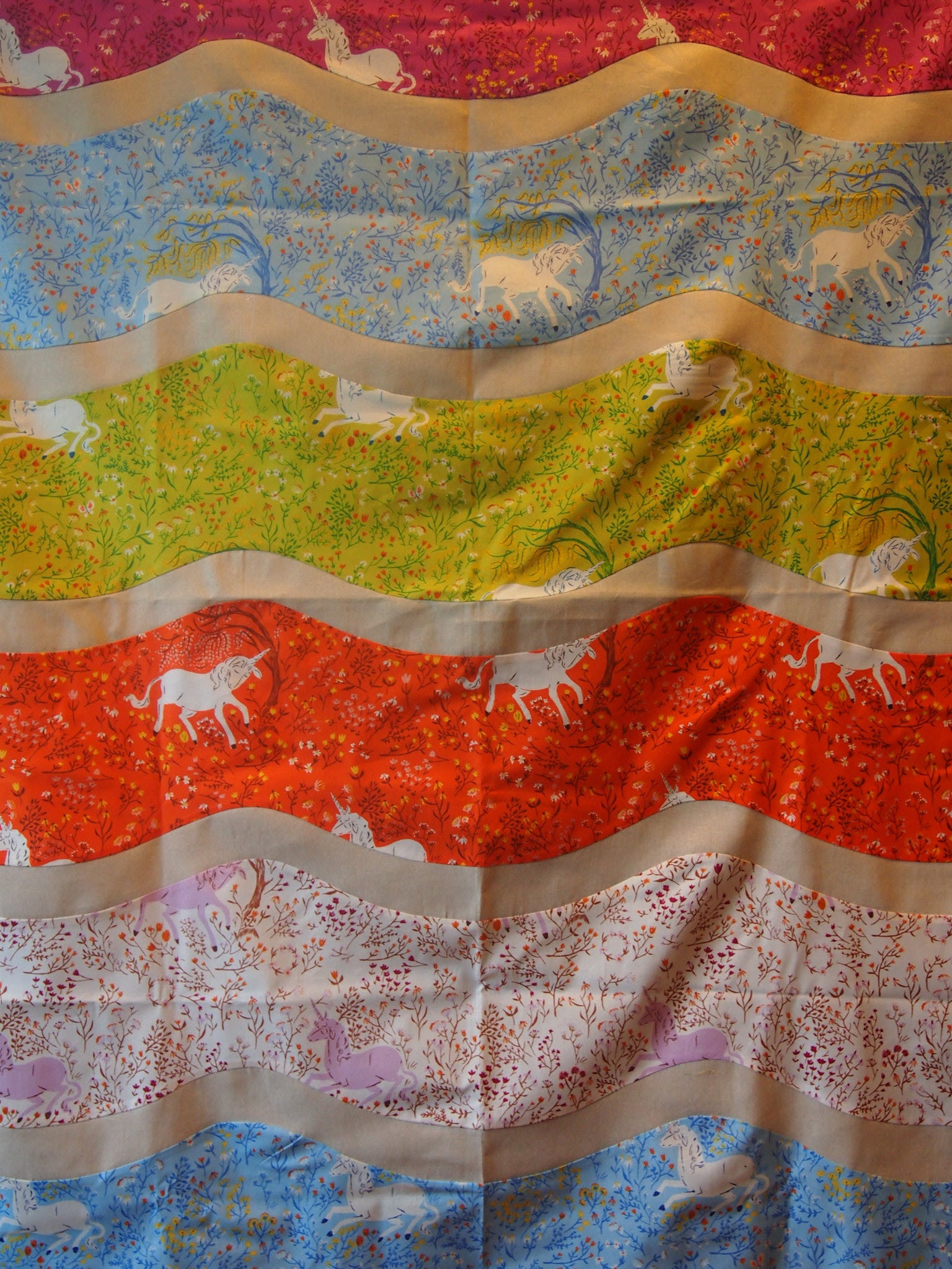 By Land or By Sea Quilt Top (Intro to Curves) - Adult - Sunday, October 19th, 12:00 - 5:00 pm - All Levels