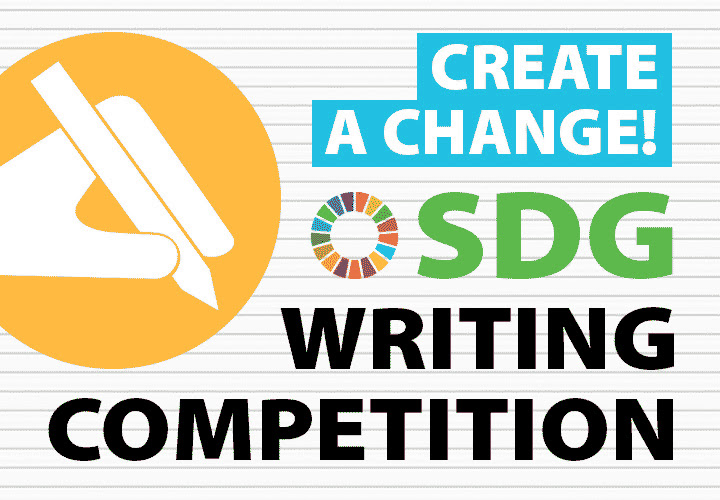 Home and away – SDG writing competition