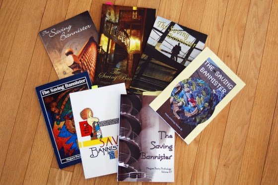 The Niagara Branch of the Canadian Authors Association organizes a provincial contest for Ontario residents. Their 29th Saving Bannister poetry anthology was launched last autumn 2014. Submission guidelines for their 30th poetry contest will be announced soon.