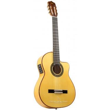 Manuel Rodriguez FF CUTAWAY SABICAS Guitare flamenco électro