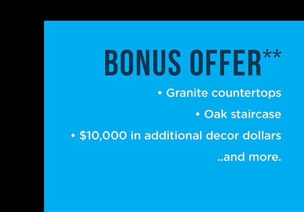 Bonus Offer**