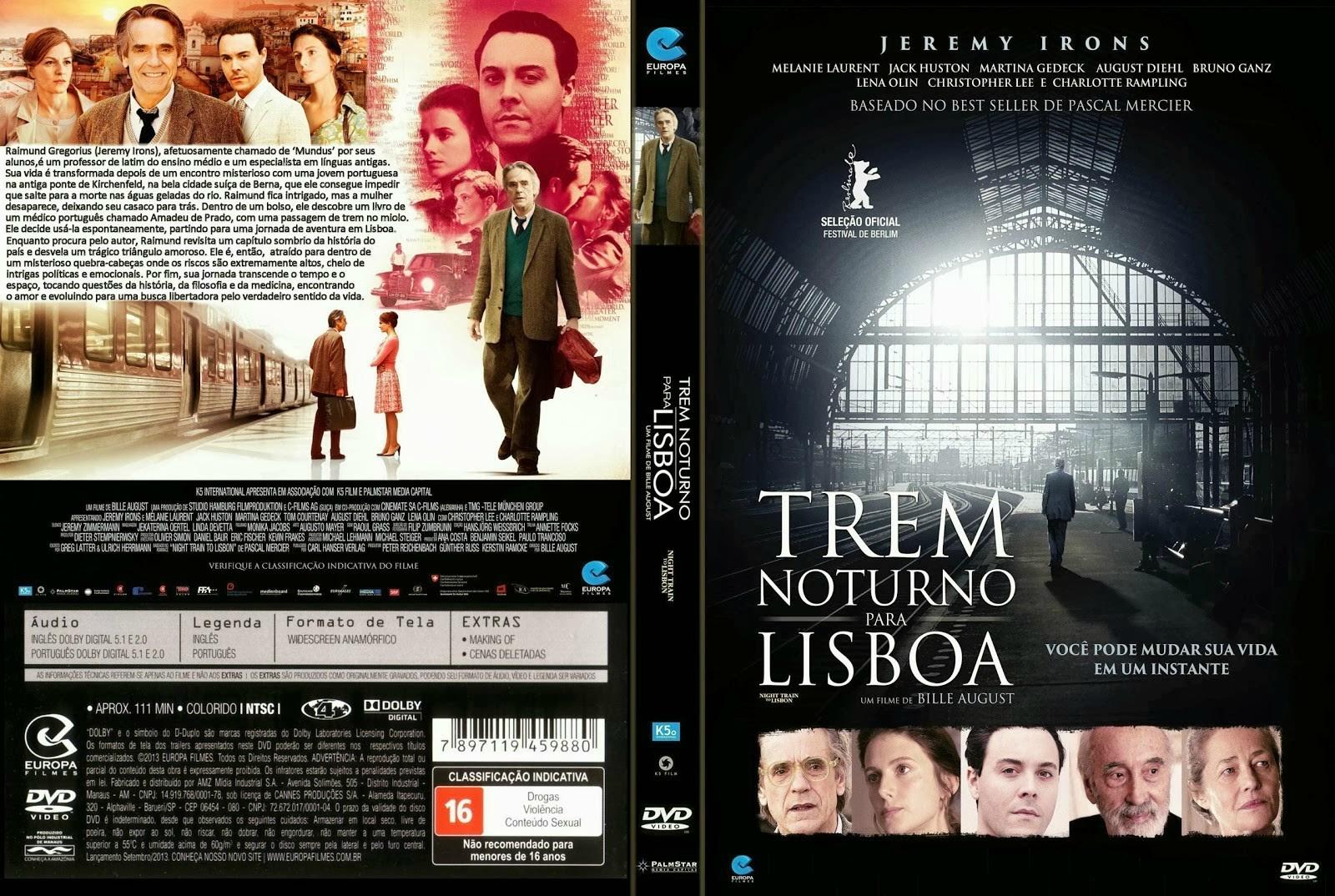 eW3I86u Trem Noturno Para Lisboa Torrent   BluRay Rip 720p Dublado (2014)
