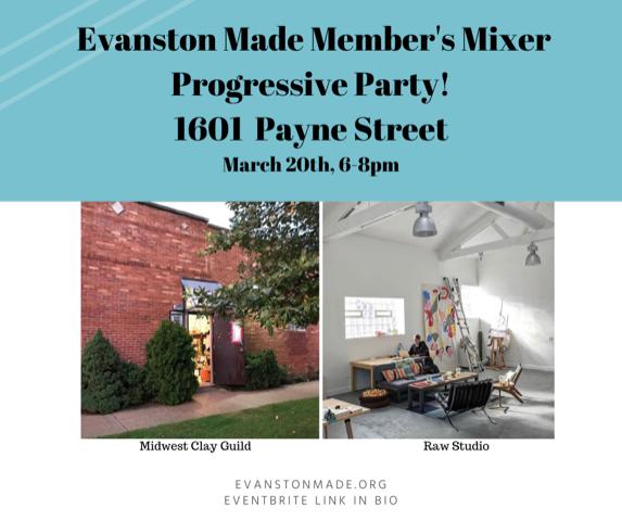 Evanston Art Member Mixer
