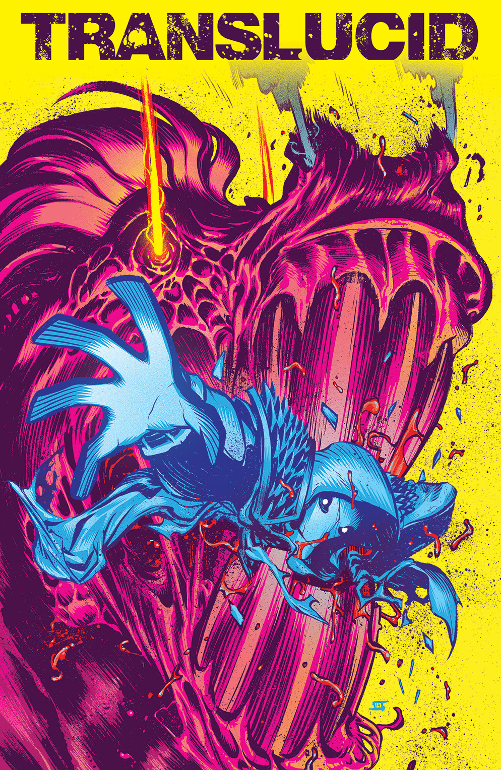 TRANSLUCID #5 Cover by Jeff Stokely