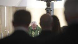 Papa Francisco homilía misa Santa Marta cristiano enamorado