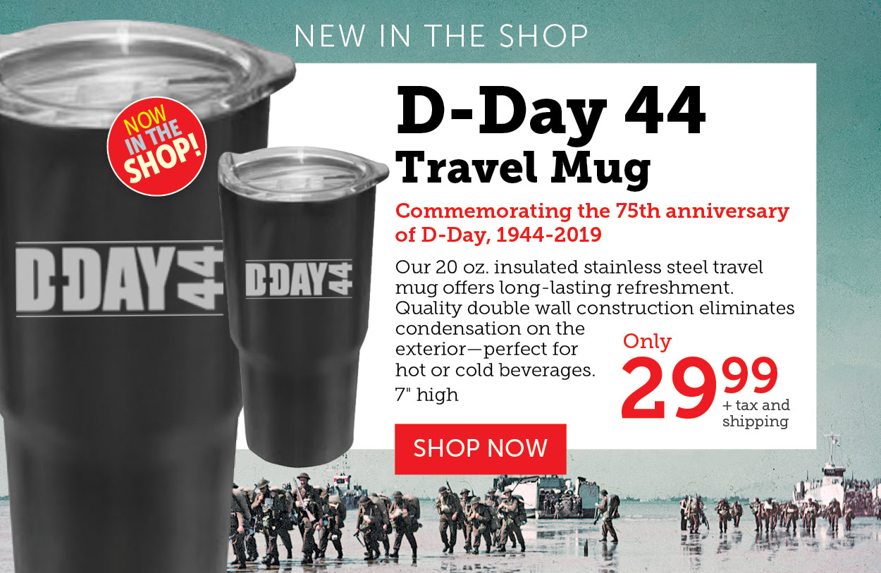 D-Day Travel Mug