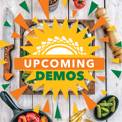 This weekend's demos