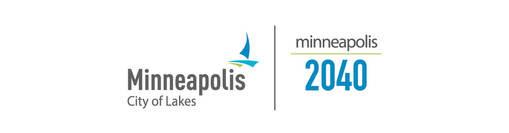 Minneapolis 2040 and City logos
