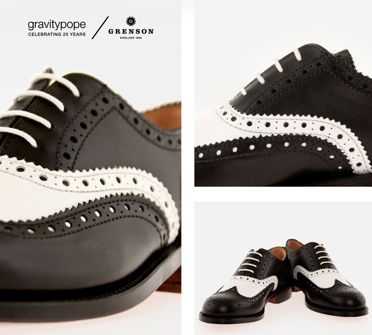GRAVITYPOPE X GRENSON